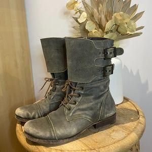 *Matisse* green boots